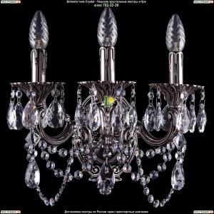 1700/3/C/NB Бра Bohemia Ivele Crystal (Богемия)