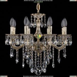 1701/8/B/GW Люстра Bohemia Ivele Crystal (Богемия)
