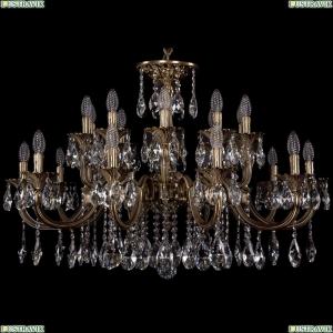 1702/10+10/300+150/A/FP Большая хрустальная подвесная люстра Bohemia Ivele Crystal (Богемия)