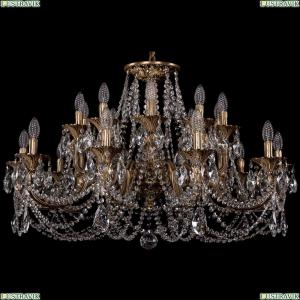 1702/10+10/300+150/C/FP Большая хрустальная подвесная люстра Bohemia Ivele Crystal (Богемия)
