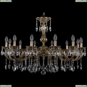 1702/12/300/A/GB Хрустальная подвесная люстра Bohemia Ivele Crystal (Богемия)