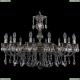 1702/14/300/A/NB Большая хрустальная подвесная люстра Bohemia Ivele Crystal (Богемия)