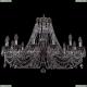 1702/14/300/C/NB Большая хрустальная подвесная люстра Bohemia Ivele Crystal (Богемия)