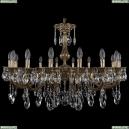 1702/16/300/A/GB Хрустальная подвесная люстра Bohemia Ivele Crystal