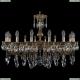 1702/16/300/A/GB Хрустальная подвесная люстра Bohemia Ivele Crystal (Богемия)