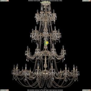 1702/16+8+8+8/335+265/C/GW Люстра Bohemia Ivele Crystal (Богемия)