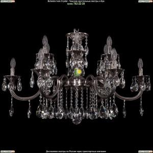 1702/6+6/335+150/A/NB Люстра Bohemia Ivele Crystal (Богемия)