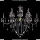 1702/6+6/335+150/B/NB Хрустальная подвесная люстра Bohemia Ivele Crystal (Богемия)