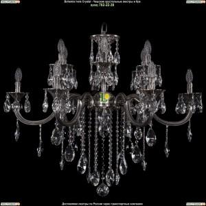 1702/6+6/335+150/B/NB Люстра Bohemia Ivele Crystal (Богемия)