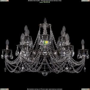 1702/6+6/335+150/C/NB Люстра Bohemia Ivele Crystal (Богемия)