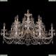 1702/7+7/300+150/C/GW Хрустальная подвесная люстра Bohemia Ivele Crystal (Богемия)