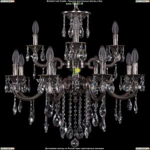 1702/8+4/265+181/B/NB Люстра Bohemia Ivele Crystal (Богемия)