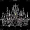 1702/8+4/265+181/C/NB Хрустальная подвесная люстра Bohemia Ivele Crystal (Богемия)