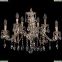 1703/10/225/A/GW Хрустальная подвесная люстра Bohemia Ivele Crystal