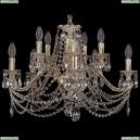 1703/10/225/C/GW Хрустальная подвесная люстра Bohemia Ivele Crystal