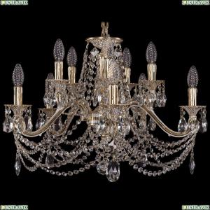 1703/10/225/C/GW Хрустальная подвесная люстра Bohemia Ivele Crystal (Богемия)