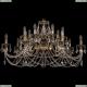 1703/14/360/C/GB Хрустальная подвесная люстра Bohemia Ivele Crystal (Богемия)
