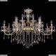 1703/16/360/B/GW Большая хрустальная подвесная люстра Bohemia Ivele Crystal (Богемия)