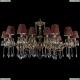 1703/18/320+210/A/GB/SH27 Большая хрустальная подвесная люстра Bohemia Ivele Crystal (Богемия)