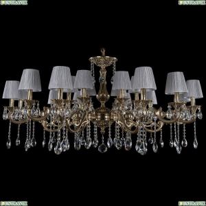 1703/18/320+210/A/GB/SH6 Большая хрустальная подвесная люстра Bohemia Ivele Crystal (Богемия)