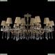 1703/18/320+210/A/GB/SH7 Большая хрустальная подвесная люстра Bohemia Ivele Crystal (Богемия)
