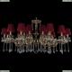 1703/18/320+210/A/GB/SH8 Большая хрустальная подвесная люстра Bohemia Ivele Crystal (Богемия)