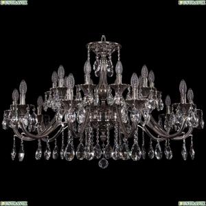 1703/20/360/A/NB Хрустальная подвесная люстра Bohemia Ivele Crystal (Богемия)