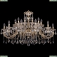 1703/24/360/A/GW Большая хрустальная подвесная люстра Bohemia Ivele Crystal (Богемия)