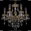 1702/6/CK125IV/B/GI Хрустальная подвесная люстра Bohemia Ivele Crystal (Богемия)