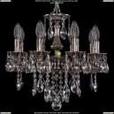 1702/8/CK125IV/B/NB Хрустальная подвесная люстра Bohemia Ivele Crystal (Богемия)