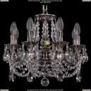 1702/8/CK125IV/C/NB Хрустальная подвесная люстра Bohemia Ivele Crystal (Богемия)