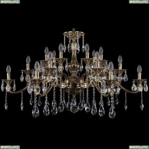 1709/21/410/A/GB Большая хрустальная подвесная люстра Bohemia Ivele Crystal (Богемия)