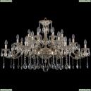 1709/24/410/A/GW Большая хрустальная подвесная люстра Bohemia Ivele Crystal
