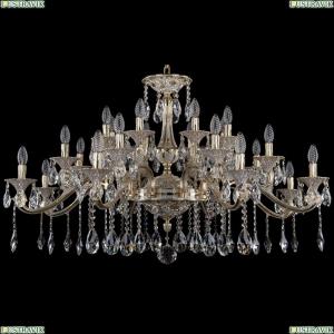 1709/24/410/A/GW Большая хрустальная подвесная люстра Bohemia Ivele Crystal (Богемия)