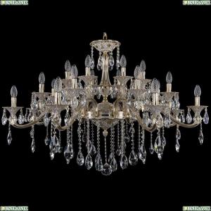 1709/24/410/B/GW Большая хрустальная подвесная люстра Bohemia Ivele Crystal (Богемия)