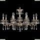 1717/12/A/GW Хрустальная подвесная люстра Bohemia Ivele Crystal (Богемия)