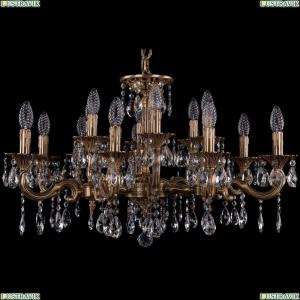 1717/15/A/FP Хрустальная подвесная люстра Bohemia Ivele Crystal (Богемия)