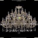 1722/12+6+6/335/A/GW Люстра Большая Bohemia Ivele Crystal (Богемия)