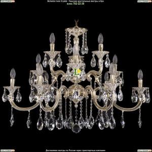 1722/6+3+3/335/A/GW Люстра Большая Bohemia Ivele Crystal (Богемия)