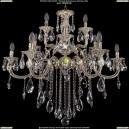 1722/6+3+3/335/B/GW Большая хрустальная подвесная люстра Bohemia Ivele Crystal