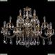 1722/8+4+4/300/A/FP Большая хрустальная подвесная люстра Bohemia Ivele Crystal (Богемия)