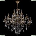 1722/8+4+4/300/B/FP Большая хрустальная подвесная люстра Bohemia Ivele Crystal