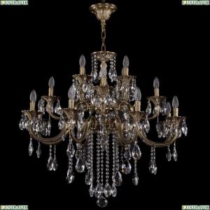 1722/8+4+4/300/B/FP Большая хрустальная подвесная люстра Bohemia Ivele Crystal (Богемия)