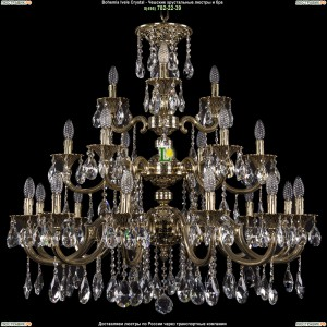 1732/12+6+3/335/A/GB Люстра Большая Bohemia Ivele Crystal (Богемия)