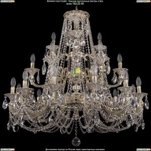 1732/12+6+3/335/C/GW Люстра Большая Bohemia Ivele Crystal (Богемия)