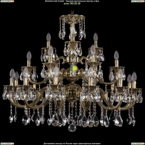 1732/12+6+3/335/SA/GB Люстра Большая Bohemia Ivele Crystal (Богемия)