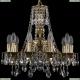 1771/10/150/A/GB Хрустальная подвесная люстра Bohemia Ivele Crystal (Богемия)