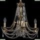 1771/4/150/C/GB Хрустальная подвесная люстра Bohemia Ivele Crystal (Богемия)