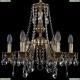 1771/6/150/A/GB Хрустальная подвесная люстра Bohemia Ivele Crystal (Богемия)
