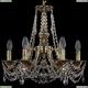 1771/6/150/C/GB Хрустальная подвесная люстра Bohemia Ivele Crystal (Богемия)